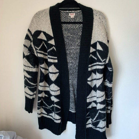 Mossimo Supply Co. Sweaters - Mossimo Patterned Sweater/Cardigan